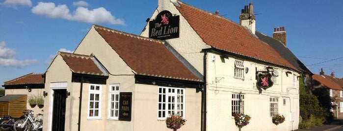 The Red Lion is one of Pub food to try.