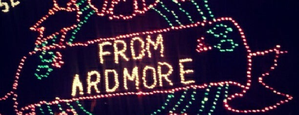 Ardmore Christmas Lights Festival is one of OKC Road Trip.