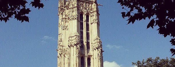 Tour Saint-Jacques is one of Paris.