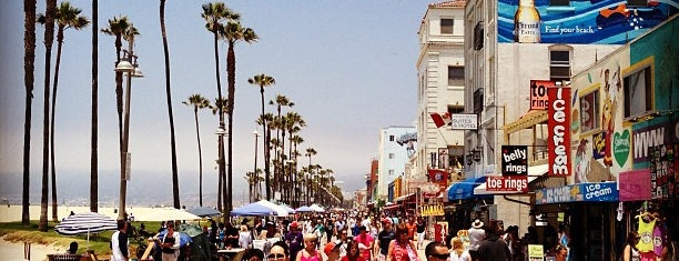 Venice Beach is one of The 50 Most Popular Beaches in the U.S..
