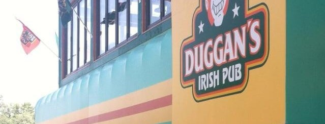 Duggan's Irish Pub is one of Dan's Places.
