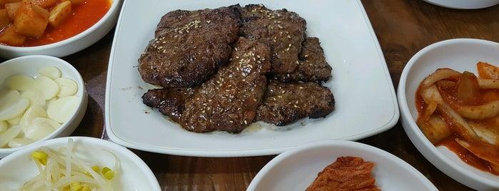화정떡갈비 is one of food.