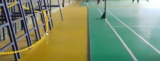 Fleet Badminton Courts is one of Intern life in Puchong.