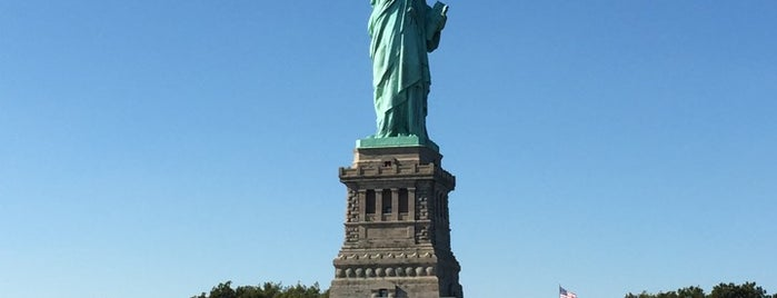 Statue of Liberty is one of Architecture - Great architectural experiences NYC.
