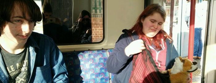 Debden London Underground Station is one of Tube Challenge.