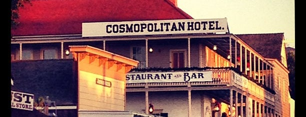 Cosmopolitan Hotel & Restaurant is one of San Diego: Taco Shops & Mexican Food.