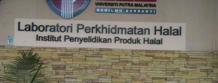 Institut Penyelidikan Produk Halal is one of Learning Centers,MY #5.