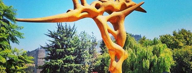 Parque de las Esculturas is one of Santiago.