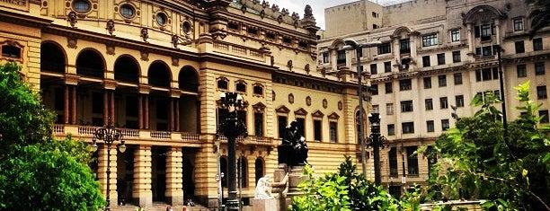 Theatro Municipal de São Paulo is one of São Paulo - O que tem por perto?.