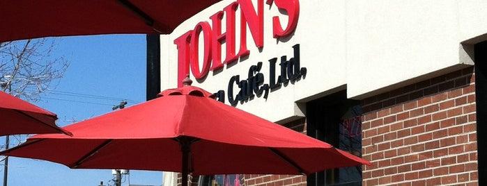 John's Pizza Cafe, Ltd. is one of St. Paul.