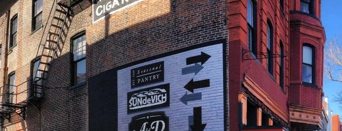 A & D Neighborhood Bar is one of dc drinks + food + coffee.