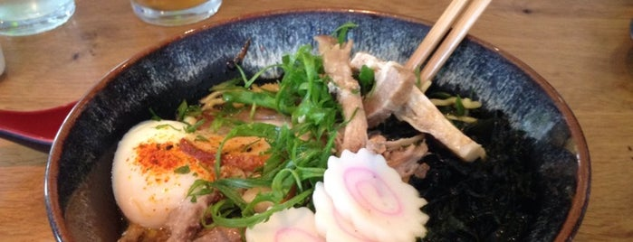 Masu Sushi & Robata is one of A State-by-State Guide to America's Best Ramen.