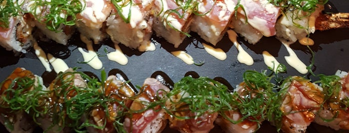 YUZU Sushi Bar & More is one of The 15 Best Places That Are Good for Dates in Athens.