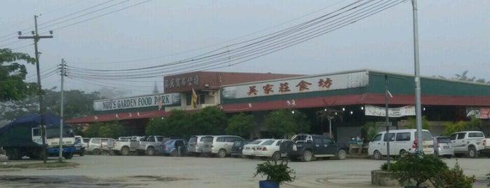 Ngu's Garden Food court is one of miri.