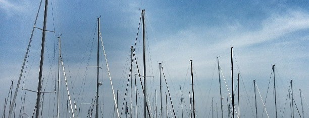 DuSable Harbor is one of Chicago.