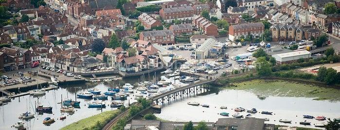 Lymington is one of England 1991.