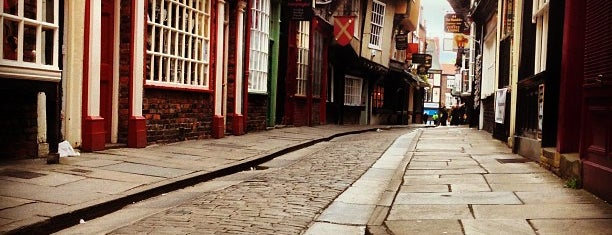 The Shambles is one of Leeds/York.