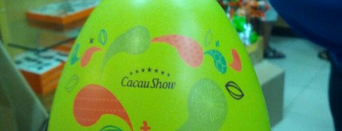 Cacau Show is one of Fátima.
