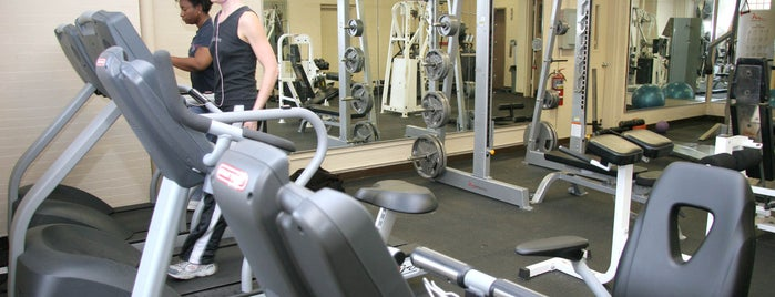 Eckhart Park is one of Chicago Park District Fitness Centers.