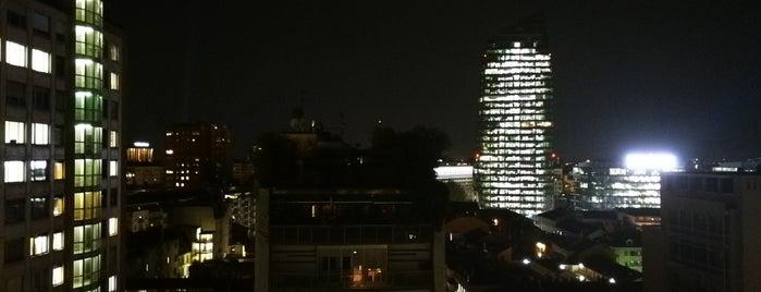 Terrazza LaGare Hotel Milano is one of Happy Hour 🍾🍸🍹.