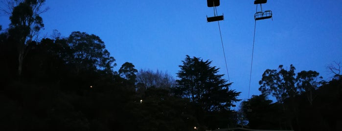 Launceston's Basin Chairlift is one of Great Family Holiday Attractions Around Australia.