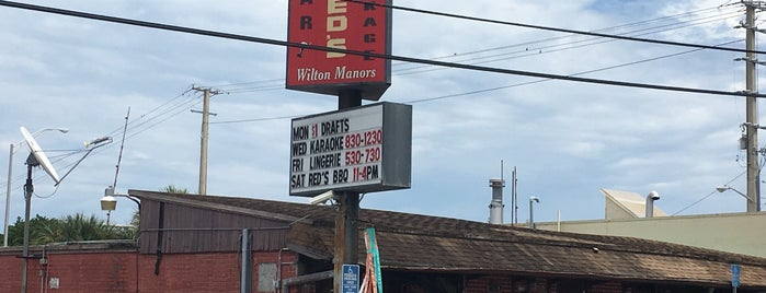 Red's is one of Fri & Sat Evenings.