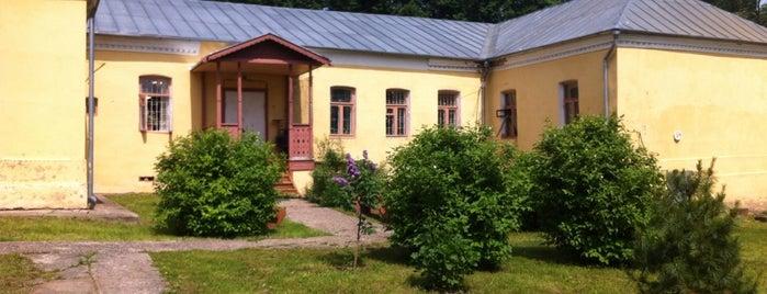 Музей-усадьба Д.И. Менделеева в Боблово is one of культУРА.