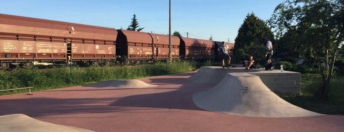Skatepark Radotín is one of Skate.