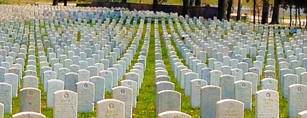 Jefferson Barracks National Cemetery is one of Fave STL Metro Sites.