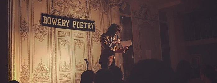 Bowery Poetry Club is one of CMJ 2012 Venues.