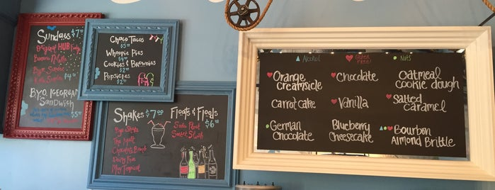 HUB Ice Cream Factory is one of The 15 Best Places for Desserts in Tucson.