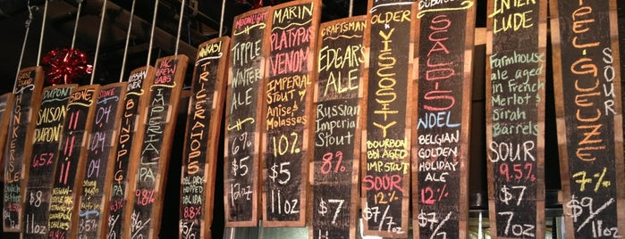 City Beer Store is one of Favorite Food + Bars in SF.