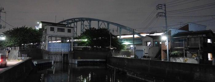 江戸川第一橋梁 is one of 千葉県と隣県を繋ぐ鉄道橋.