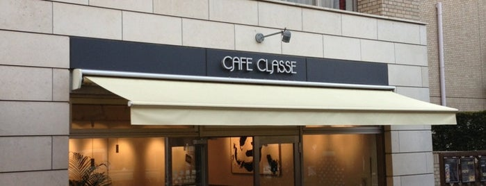 CAFE CLASSE DAIKANYAMA is one of free Wi-Fi in 渋谷区.