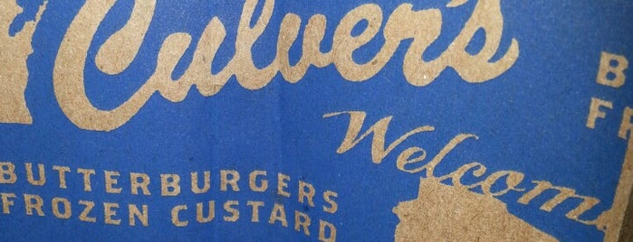 Culver's is one of Road trip.