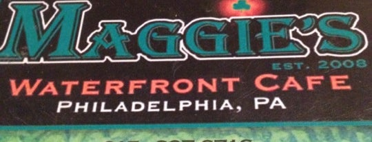 Maggie's Waterfront Cafe is one of The 15 Best Places for An Irish Beer in Philadelphia.