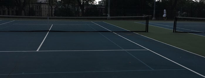 Highland Park Tennis Courts is one of Anything sports.