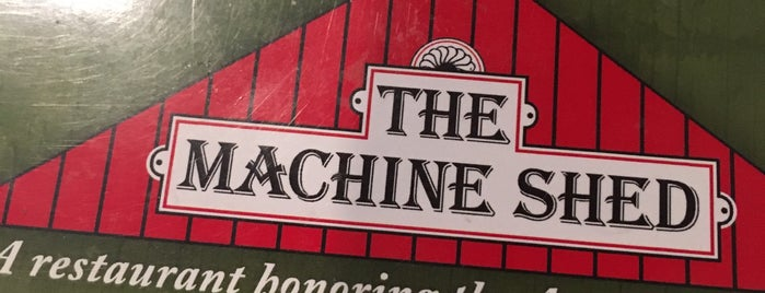 Iowa Machine Shed is one of Food Paradise.