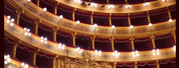 Teatro Massimo is one of South Italy.