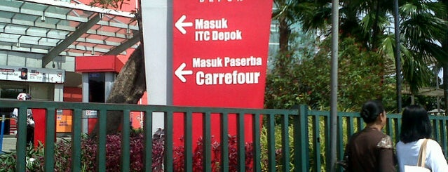 ITC Depok is one of Malls in Jabodetabek.