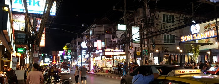 Chaweng North Shopping Street is one of Samui.