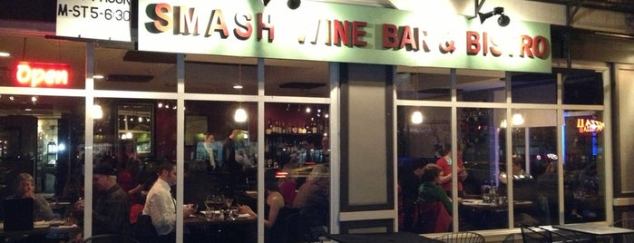 Smash Wine Bar & Bistro is one of Seattle Summer 2013 To Do List.
