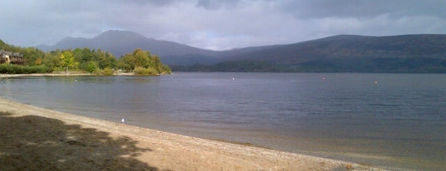 Loch Lomond is one of Glasgow I was there.