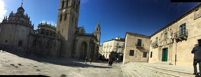 Praza de Ferrol is one of Lugares que visitar en Lugo.
