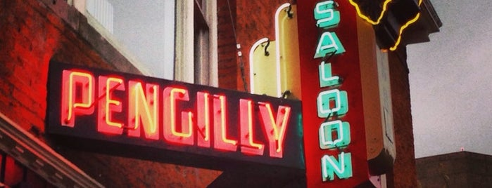 Pengilly's Saloon is one of Esquire's Best Bars (A-M).