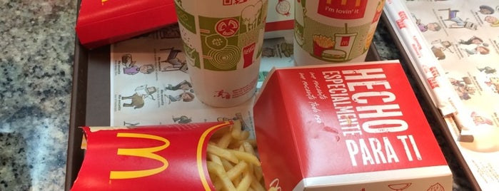 McDonald's is one of Cafeterias.