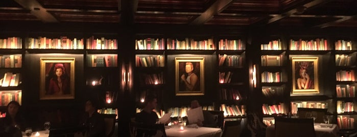 The Library @ Yvonne's is one of Bars and Restaurants in Boston.