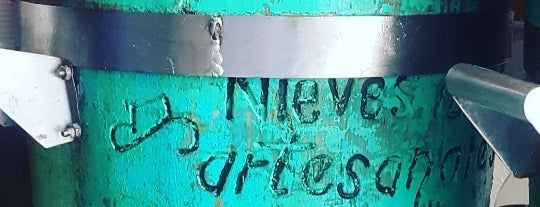 Nieves 100% Artesanales is one of Mexico.