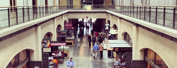 Ferry Building Marketplace is one of San Fran.
