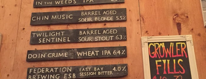 Federation Brewing is one of SF Bay Area Brewpubs/Taprooms.